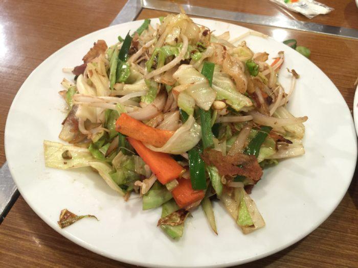糖質制限ダイエット 野菜炒め